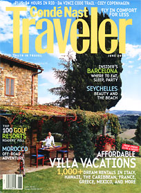 Condé Nast Traveler - Villa Rental Guide