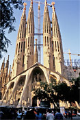 Barcelona vacation rentals provide a perfect home-base from which to explore the symbol of Barcelona, La Sagrada Familia.