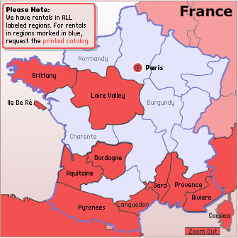 French Vacation Rentals Where To Stay In France - Where is france on the map