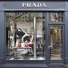 Prada boutique